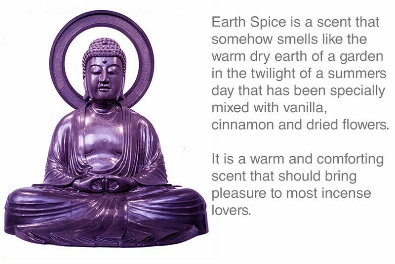 Earth Spice Incense 10 Stick Pack