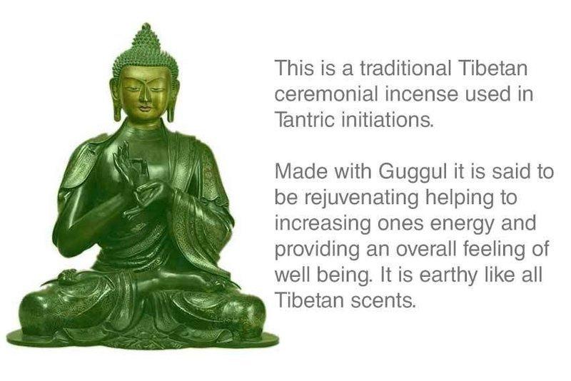 Tantric Ceremonial Tibetan Incense Approx 30 stick Box
