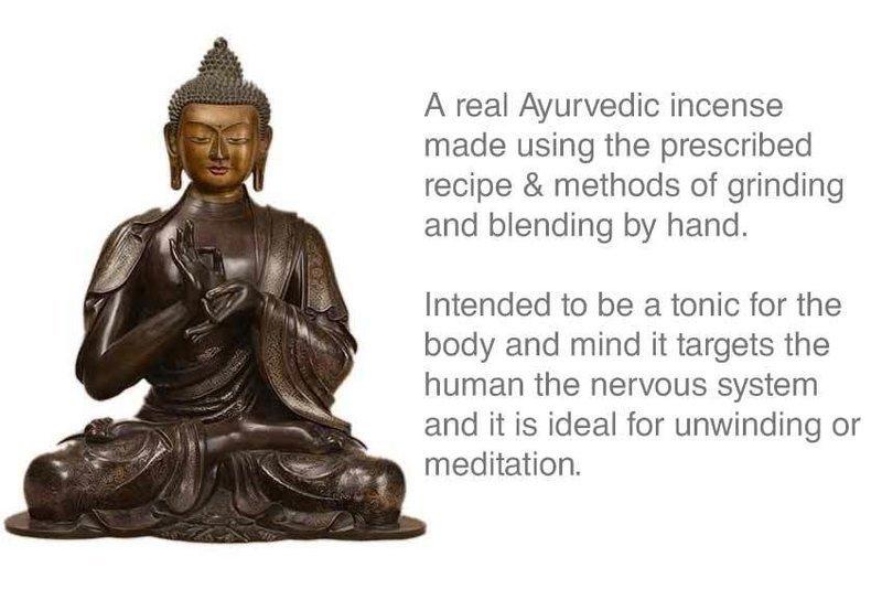 Traditional Ayurvedic Tibetan Incense Approx 30 stick Box
