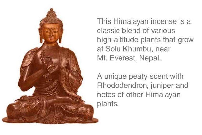 Tsongkhapa Mountain Herb Tibetan Incense Approx 30 stick Box
