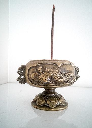 ** £35.70 after discount ** Little Solid Brass Incense Burner. Click for details
