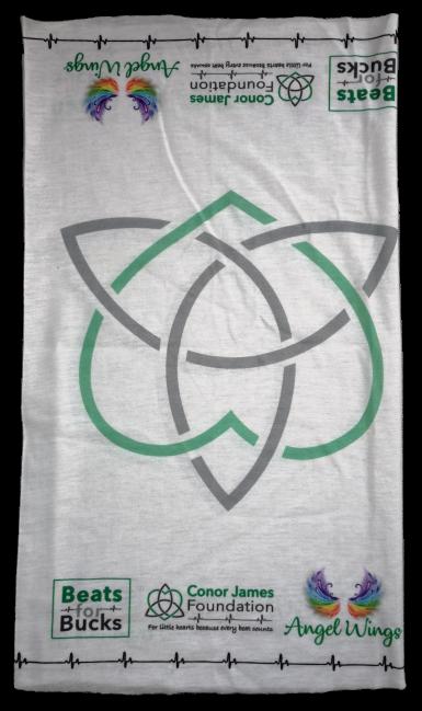 Conor James Foundation head scarf