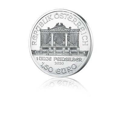 Dunajski filharmonik - srebrni 1 unča