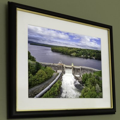 12x16 Paupack Dam Release, close-up