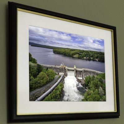 13x19 Paupack Dam Release, Far