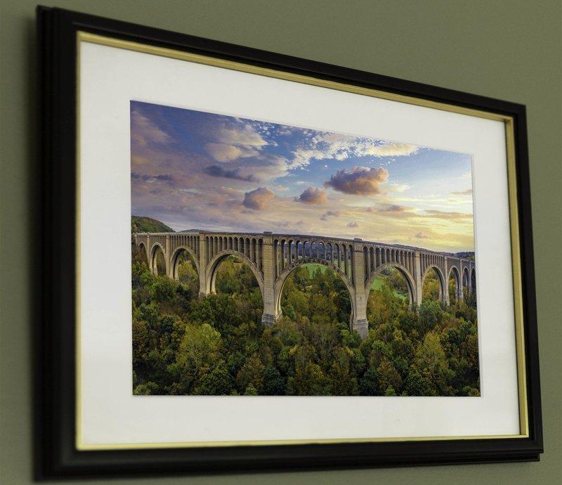 10x19 Nicholson Viaduct In Autumn