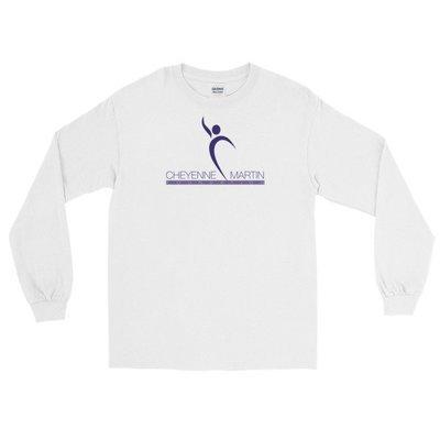 Cheyenne Martin Foundation White Long Sleeve Tee