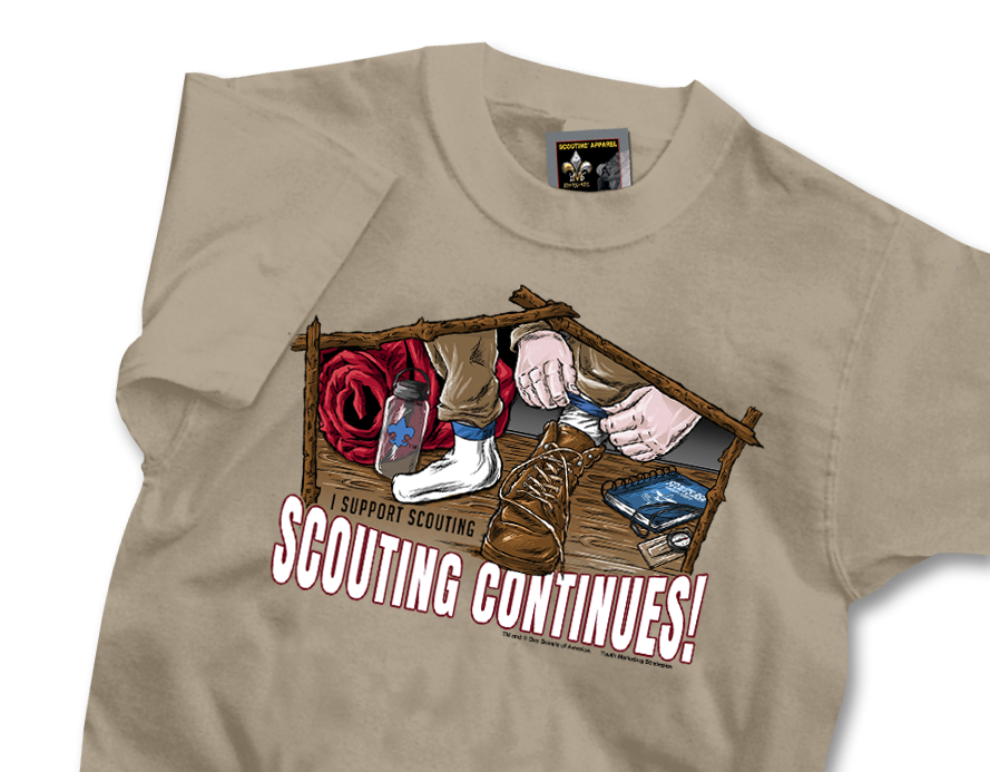 I Support Scouting T-shirt