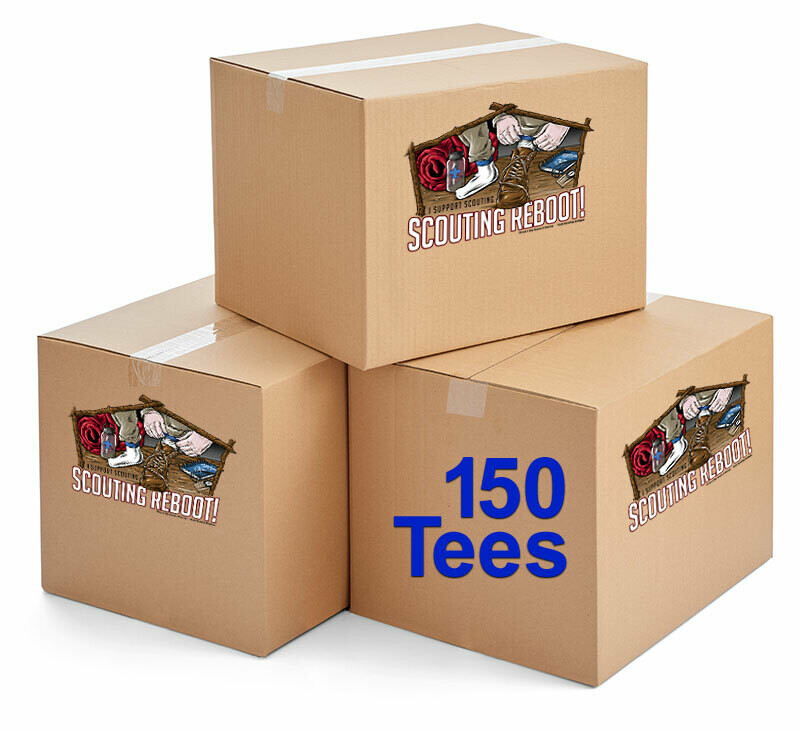 150 Scouting Continues Cotton T-shirts
