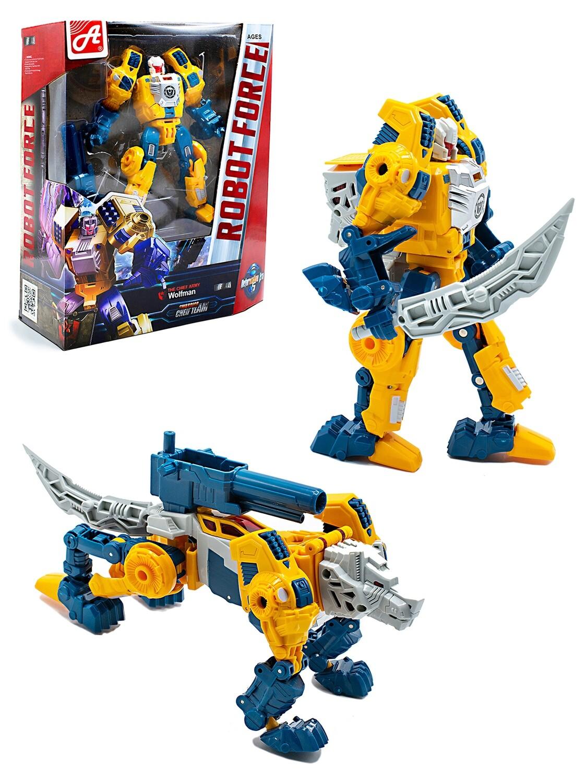 Конструктор BEST KING. METAL. ROBOT FORCE №14