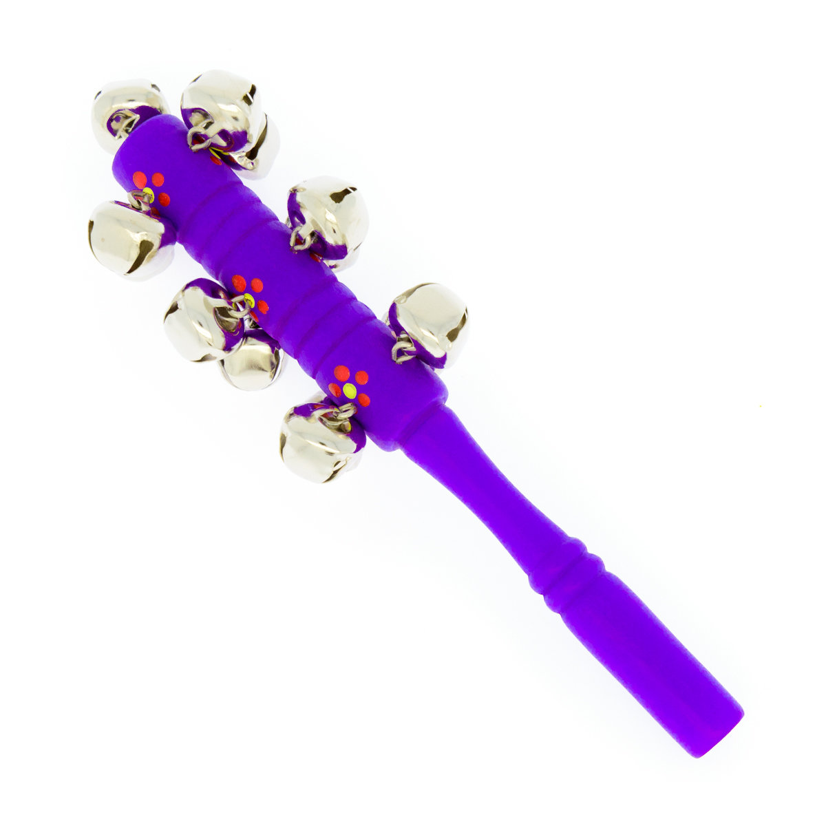 Стучалка большая (бубенцы, фиолетовая)