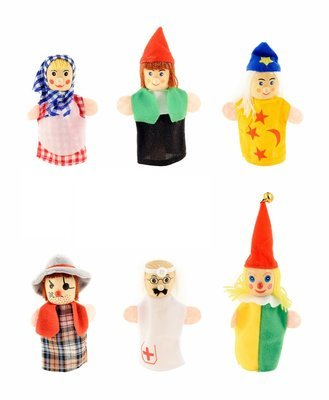 Набор пальчиковых кукол на руку ТЕАТР