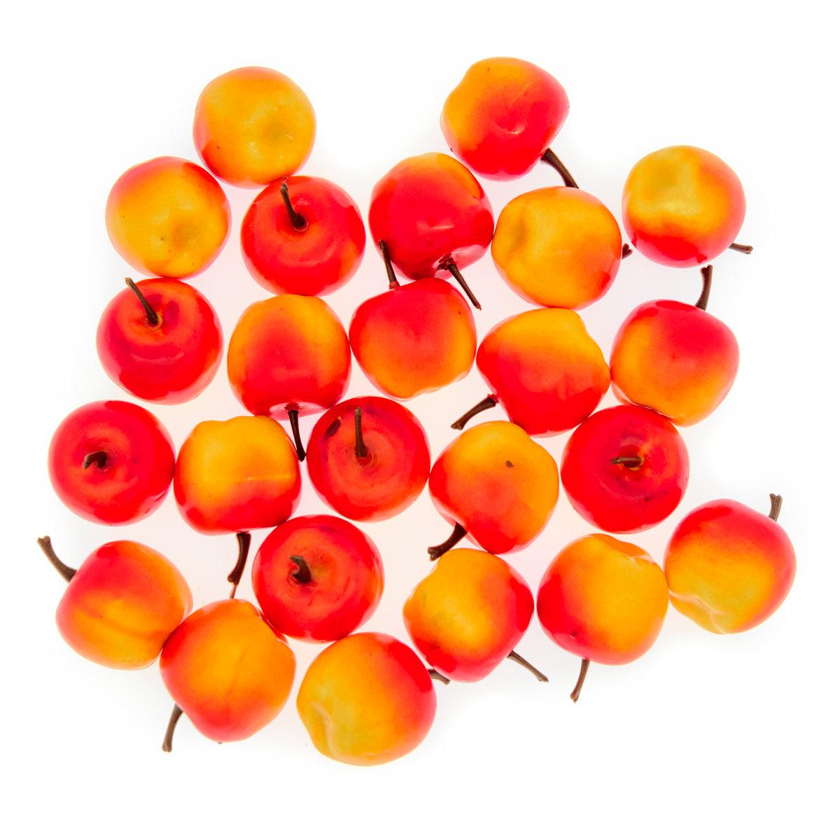 Счетный материал. Яблочки-2. (24 эл.)