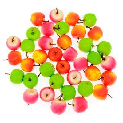 Счетный материал. Яблочки. Ассорти. (36 эл.)