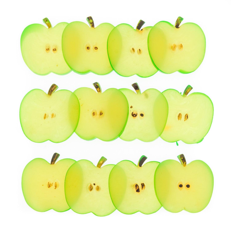 Счетный материал. Яблочные слайсы. (12 эл.)