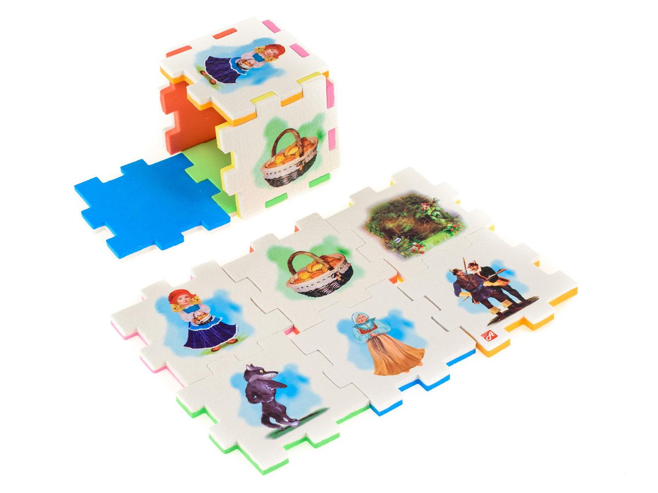 КРАСНАЯ ШАПОЧКА (1 кубик)