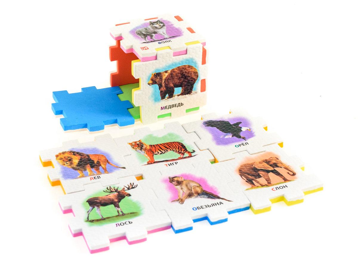 ДИКИЕ ЖИВОТНЫЕ (2 кубика)