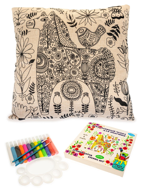Волшебная лошадка. Чехол для подушки + краски и кисти