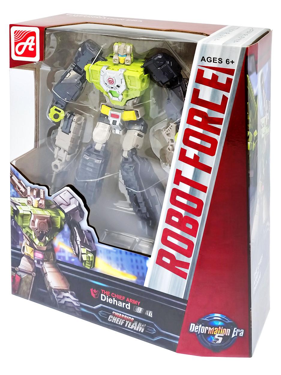 Конструктор BEST KING. METAL. ROBOT FORCE. Красно-бело-зеленый