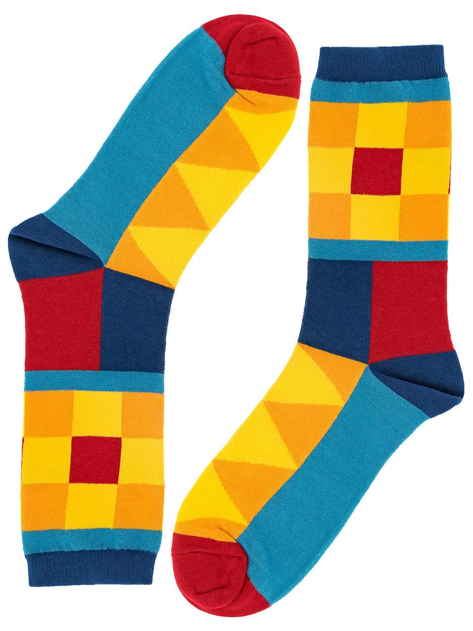 Носки Checkered rhombuse