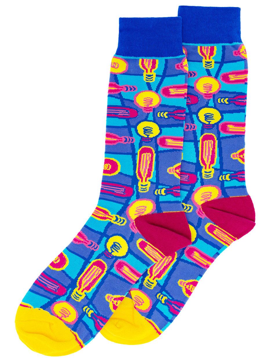 Носки Цветные лампочки