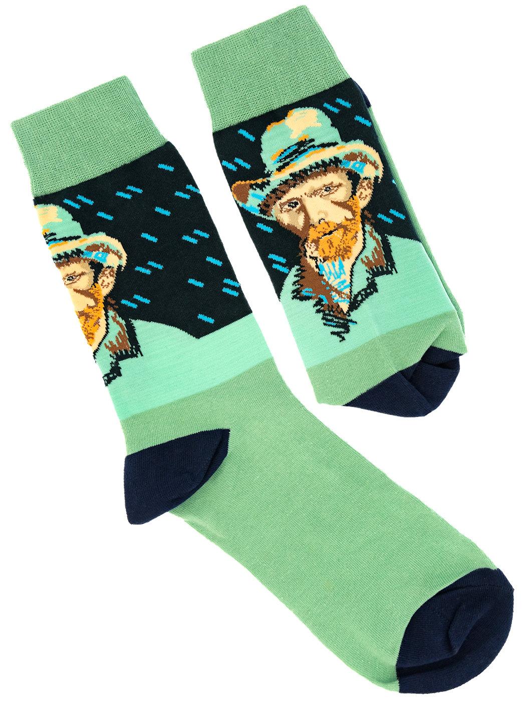 Носки Винсент на светло-зеленом