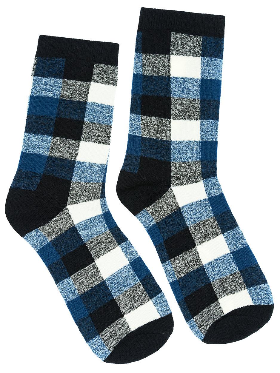 Носки Шотландка синие