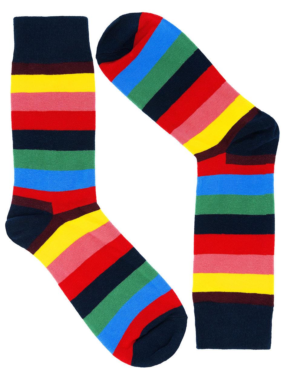 Носки Stripes полосатые № 1