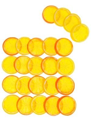 Счетный материал. Цитрусовые. Развивающий набор. 24 элемента