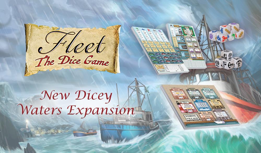 Fleet - Le Jeu de Dés: Extension Dicey Waters