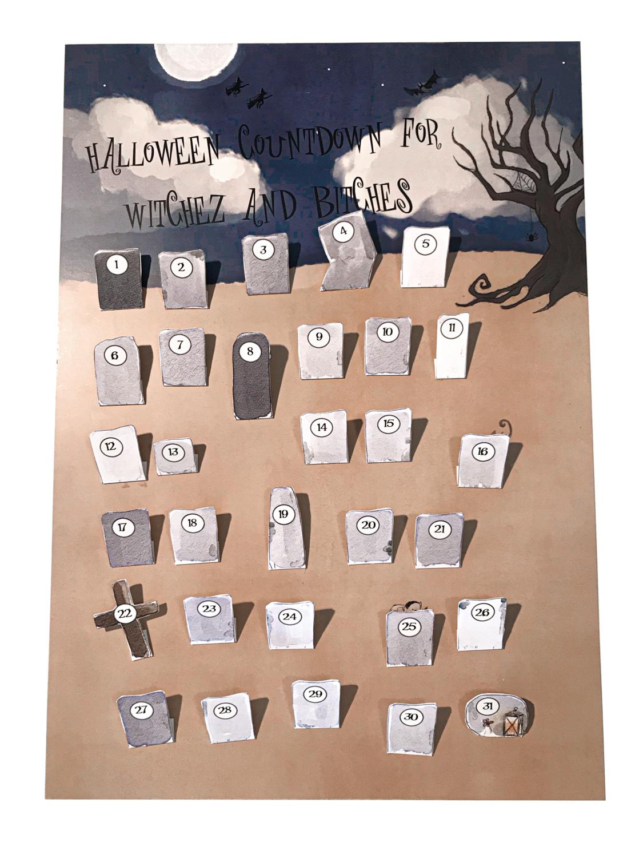 Halloweenkalender