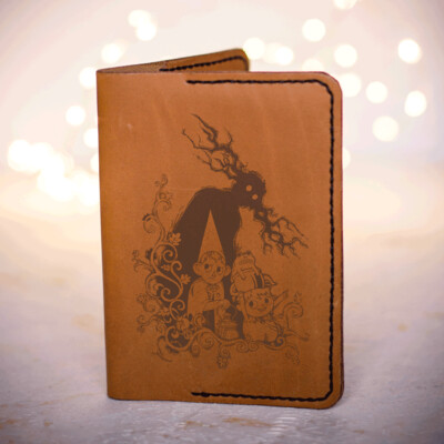 Over the garden wall Passport cover with Wirt and Greg