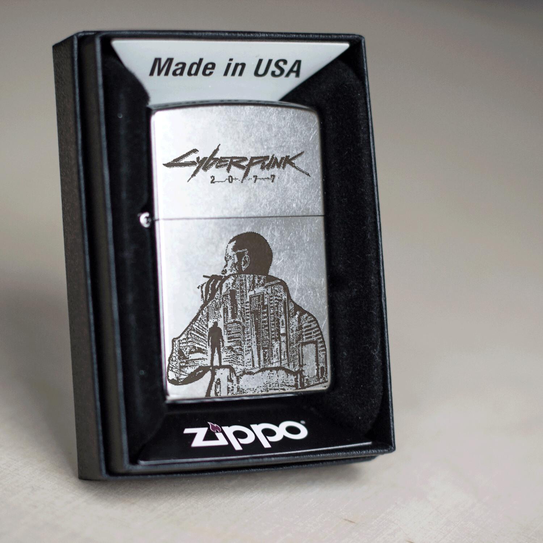 Cyberpunk 2077 gift / Custom zippo 207 lighter