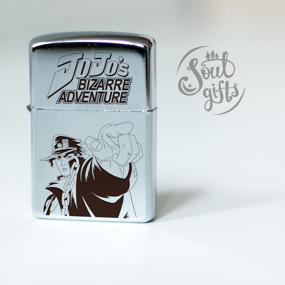 JoJo's Bizarre adventure lighter / Jotaro Kujo