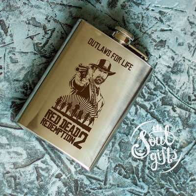 Red Dead Redemption 2 flask / Arthur Morgan