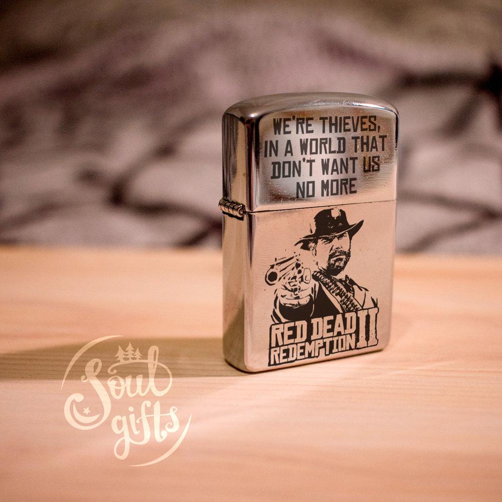Red Dead Redemption 2 lighter / Arthur Morgan