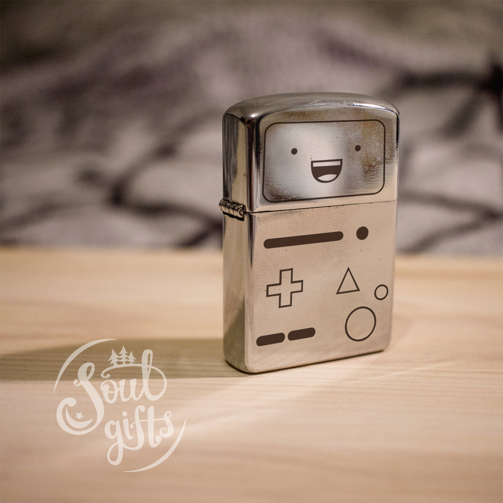 Adventure Time lighter / BMO