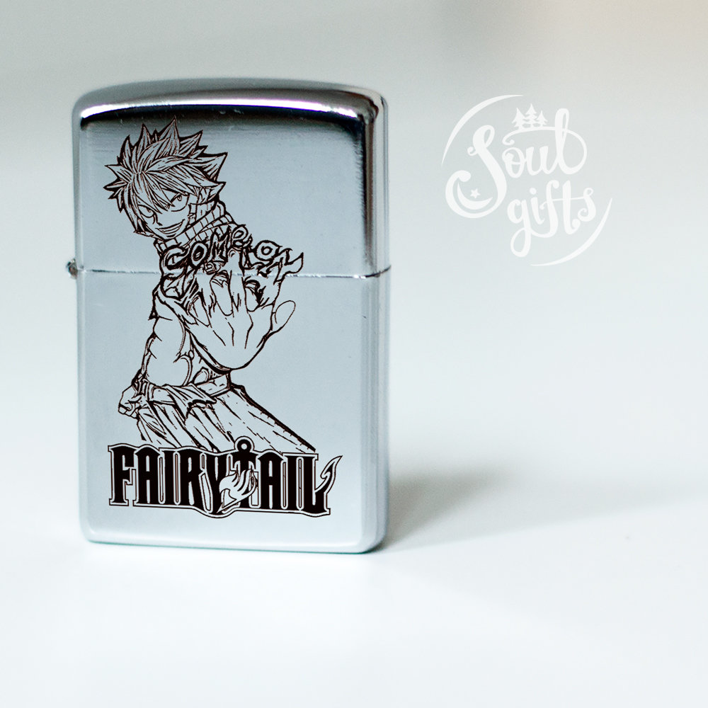 Fairy Tail lighter / Natsu Dragneel / Erza Scarlet