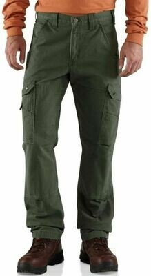 Carhartt Cotton Ripstop Relaxed Fit Double-Front Cargo Work Pants