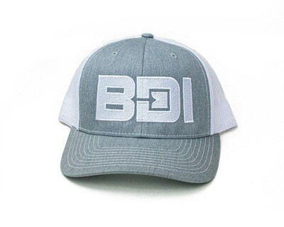 BDI Logo Richardson Cap -  Gray & White