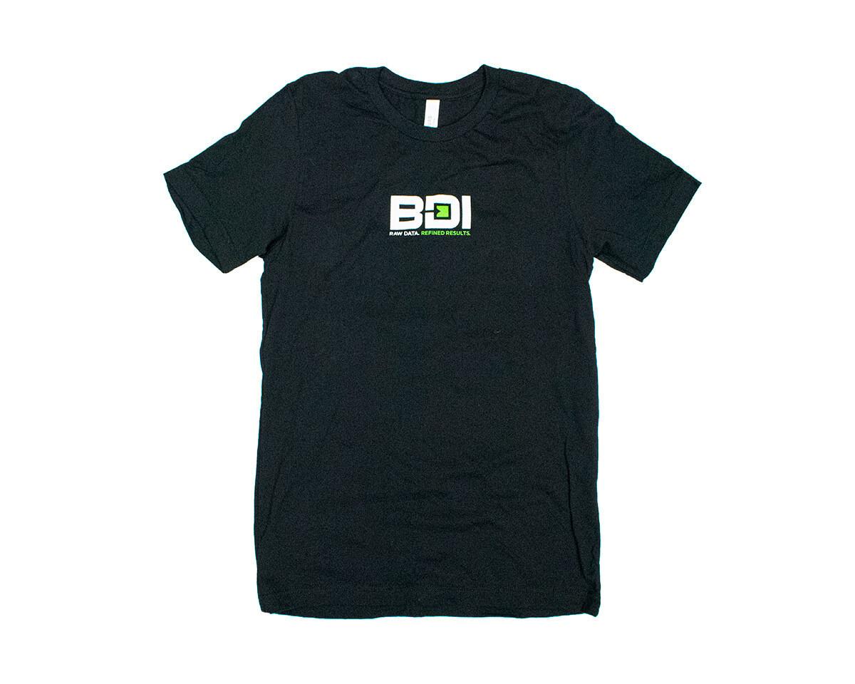 BDI Logo Bella + Canvas Black T-Shirt