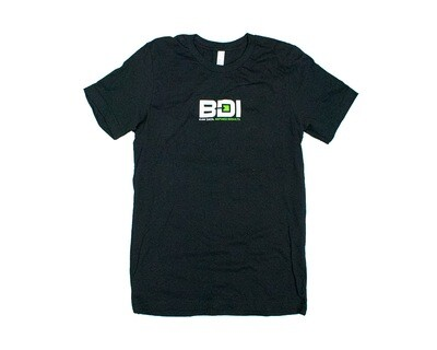 BDI Logo Bella + Canvas Black T-Shirt