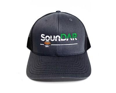 SounDAR Logo Cap - Charcoal Front & Black Mesh Bmesh baclack