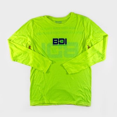 Gildan Performance 42400 Long Sleeves - Safety Green