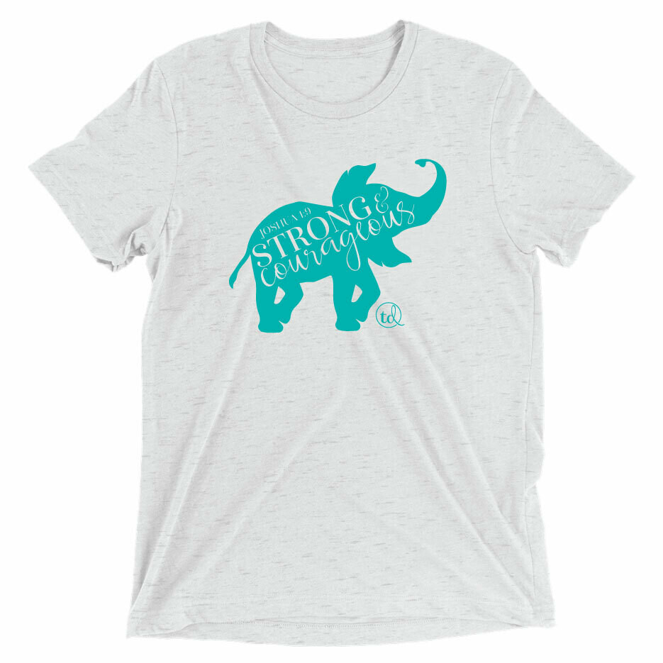 T-Shirt Elephant Tee - Heather Grey