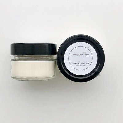 Biscotti Ice Cream 2oz. Soy Candle
