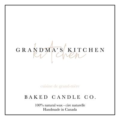 Grandma's Kitchen 10oz. Soy Candle