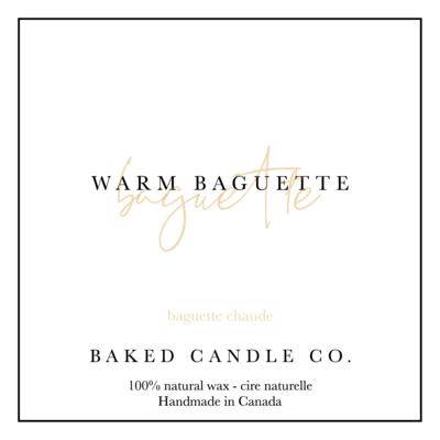 Warm Baguette 10oz. Soy Candle