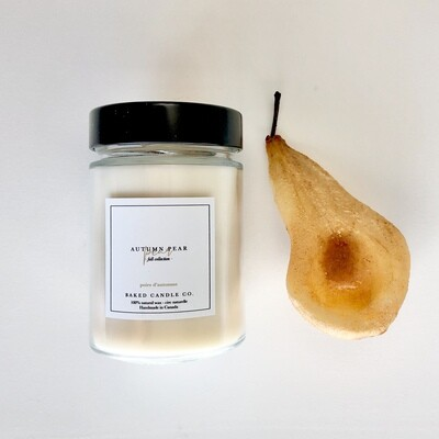 Autumn Pear 10oz. Soy Candle