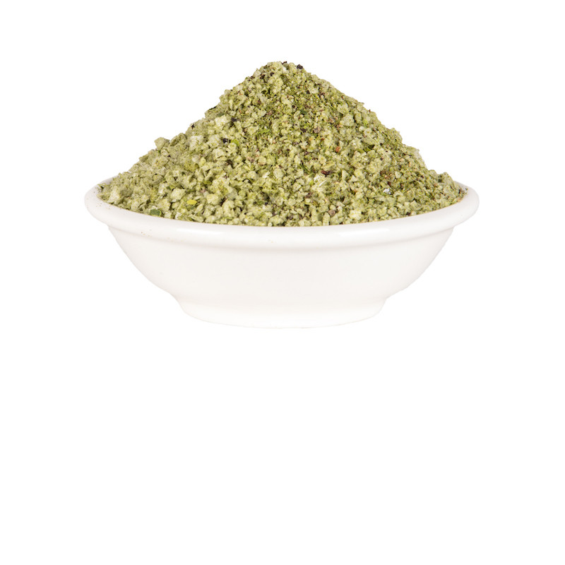 Kaffir Lime and Australian Black Pepper Salt